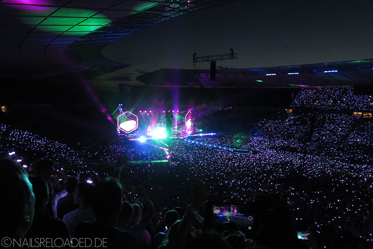 Coldplay - Olympiastadion Berlin