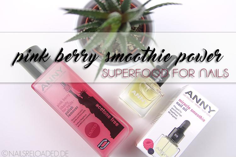 pink berry smoothie power von ANNY