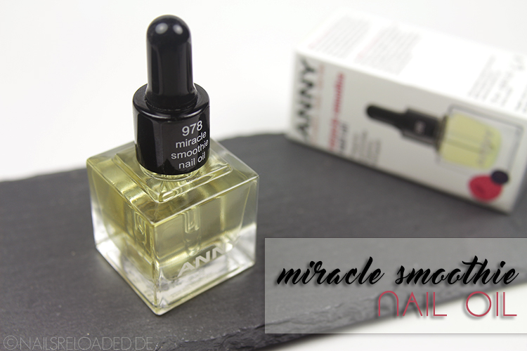 ANNY - 978 miracle smoothie nail oil