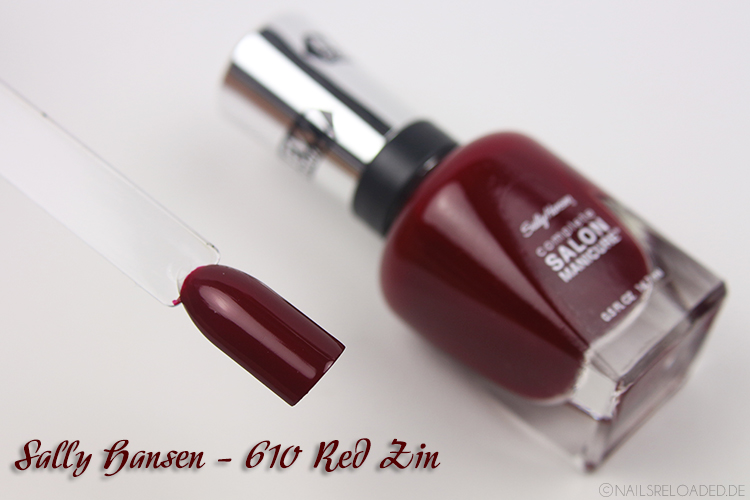 Sally Hansen - 610 Red Zin