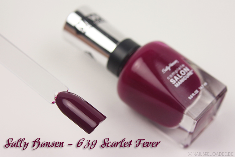 Sally Hansen - 639 Scarlet Fever