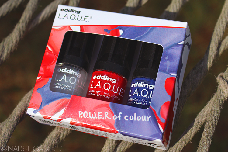P.O.W.E.R. of colour Set von edding L.A.Q.U.E.