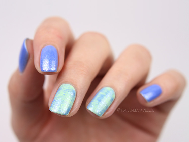 nageldesign dry brush