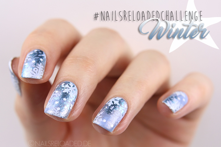 Nageldesign Winter nailsreloadedchallenge