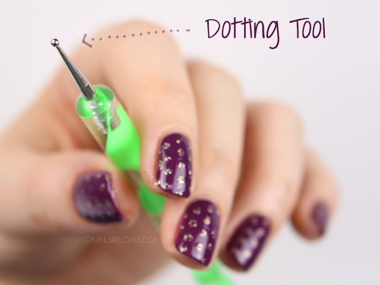 Nageldesign dotting tool