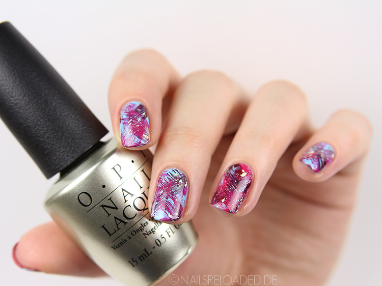 dry brush Nageldesign