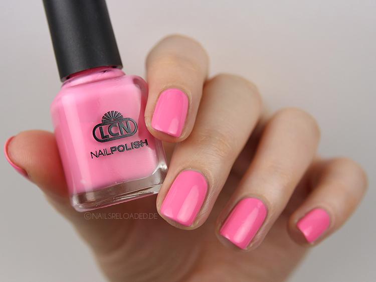 Nagellack LCN crazy flamingo Funky Town