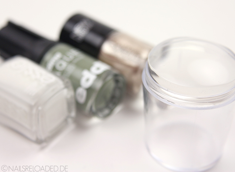 DIY Marmor Nageldesign