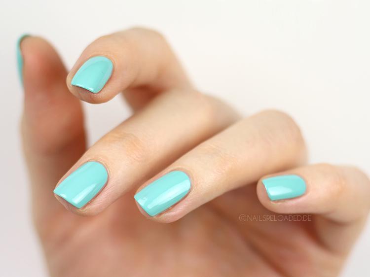 Nagellack edding LAQUE green aquamarine