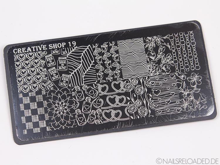 Stampingplatte Creative Shop 19